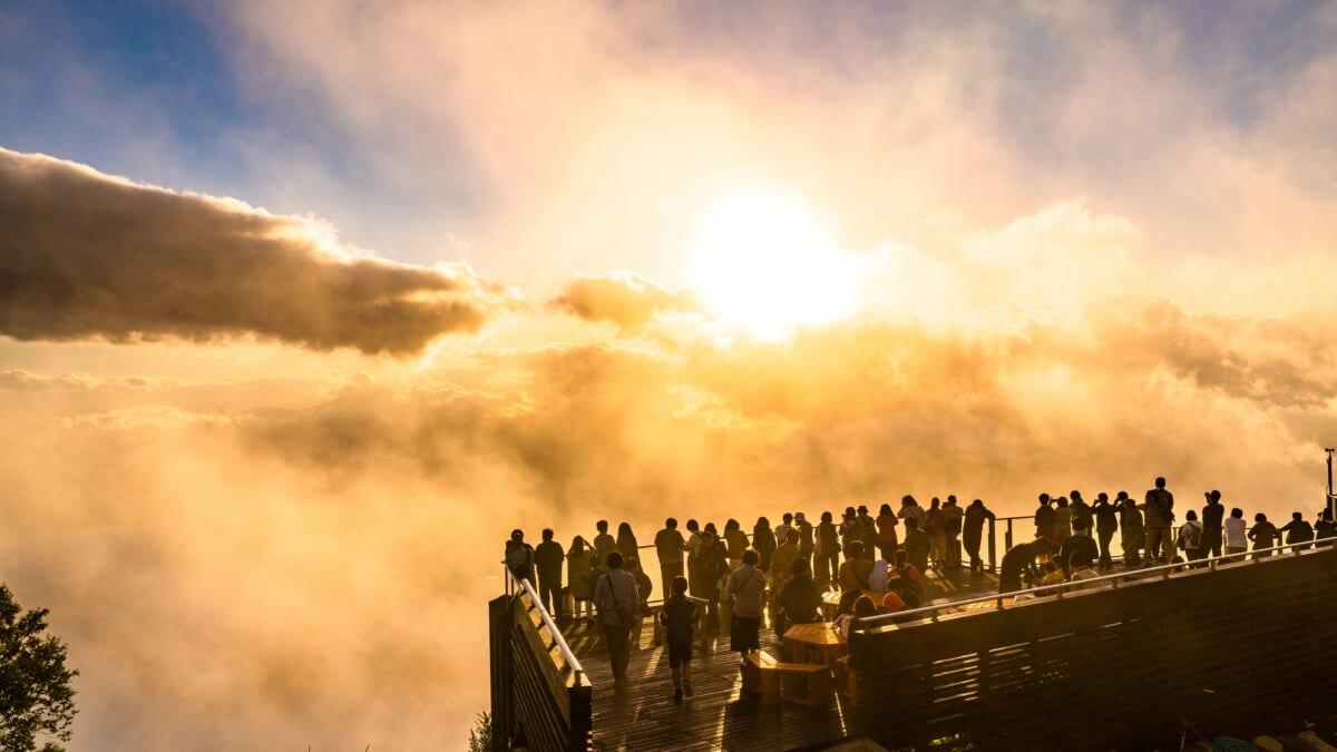 【長野/志賀高原】SORA terraceとは?標高1770mから雲海の絶景を堪能