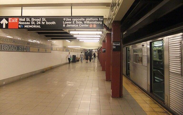ニューヨーク市地下鉄BMTナッソ...