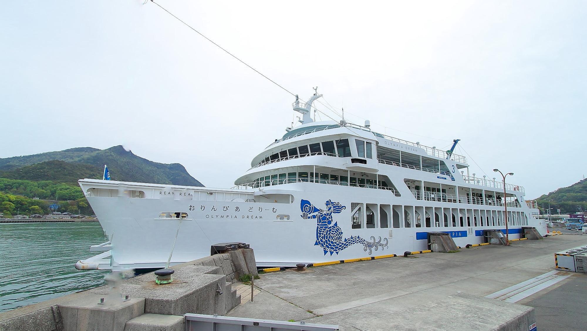 岡山から小豆島観光へ!有名デザイナー監修のフェリーでお洒落な旅を