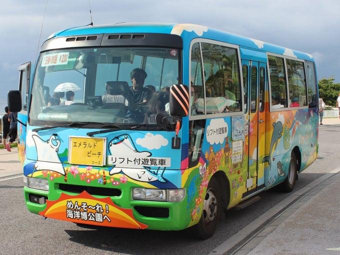 沖縄海洋博公園 電気遊覧車