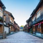 金沢観光の定番エリア・ひがし茶屋街