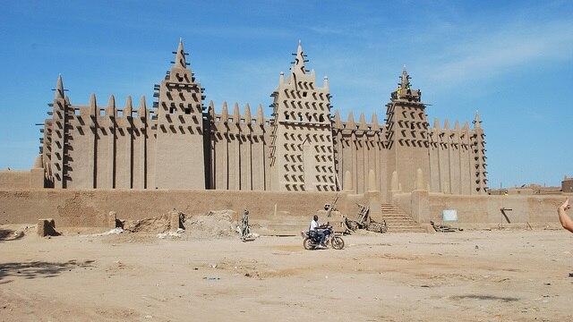 マリの世界遺産ジェンネ旧市街!...