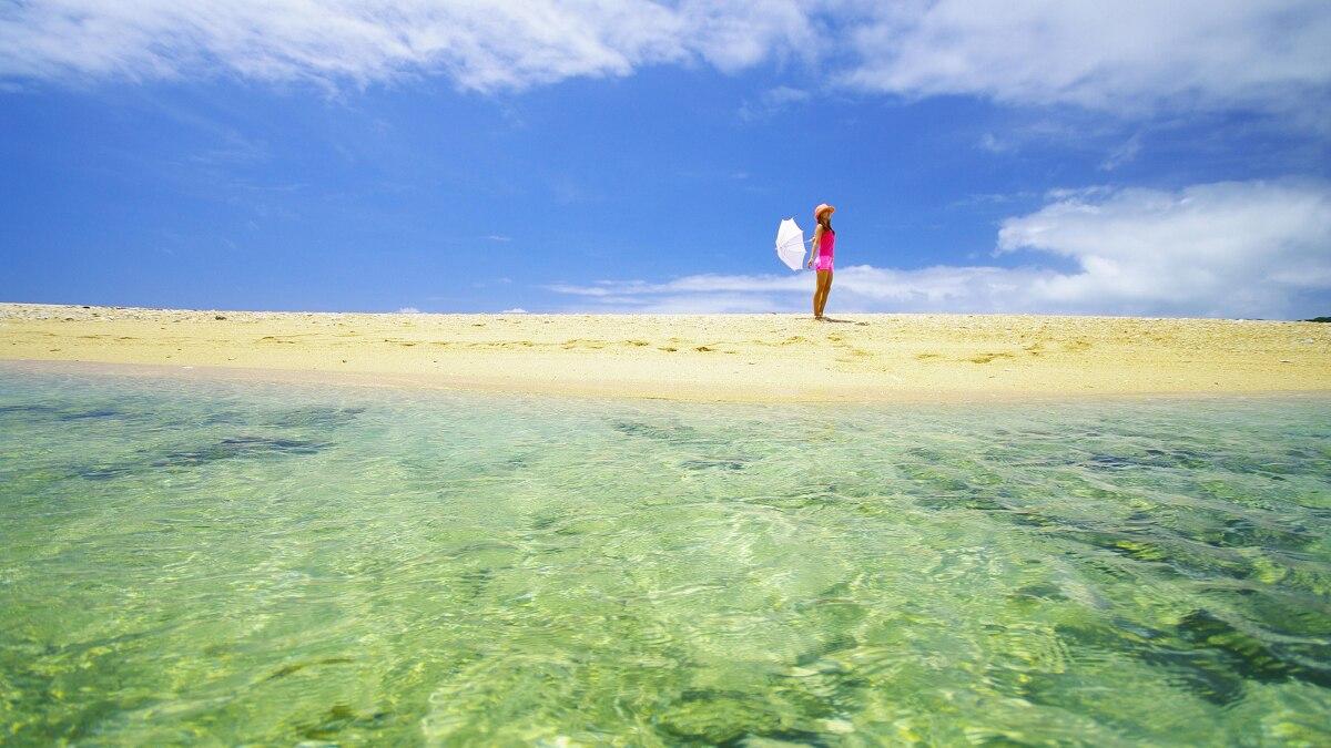 ウカビ島(ウカビ砂盛)は奇跡の無人島!絶景ビーチに渡れるかは天候次第