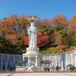秋の奉恩寺、そして弥勒大仏