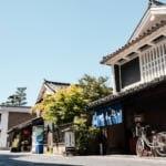 広島県竹原市の歴史的な街並み