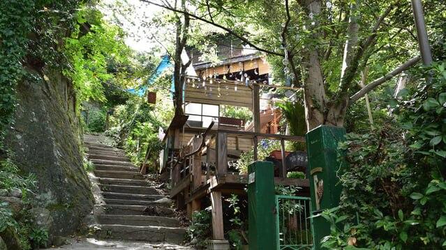 千光寺周辺にあるお洒落な小道