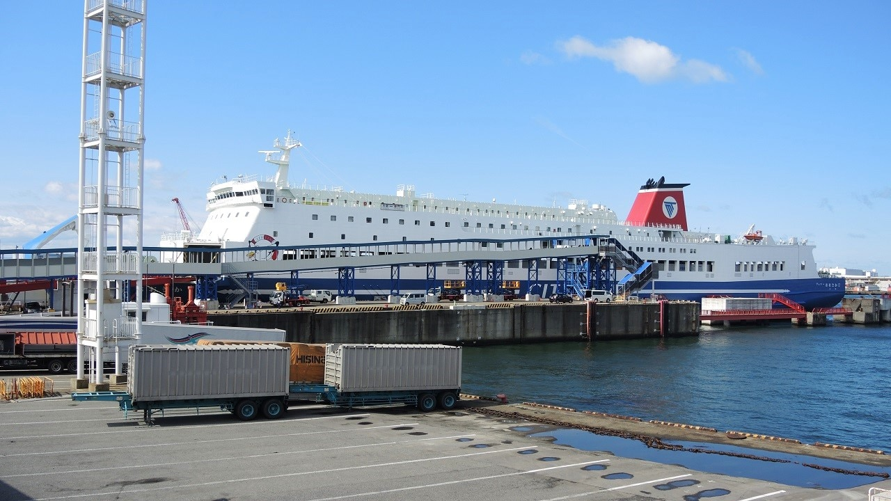 九州から大阪に格安で行くなら「名門大洋フェリー」がおすすめ!