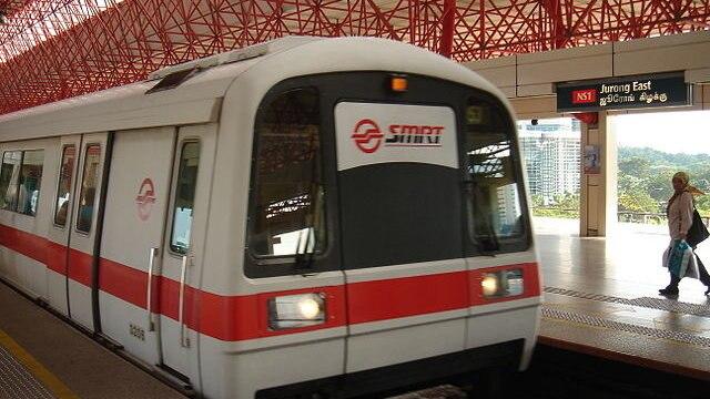 シンガポールのMRT南北線(North...