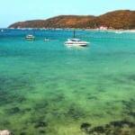 ロン島(ラン島)で最も訪問者の多いターウェンビーチ