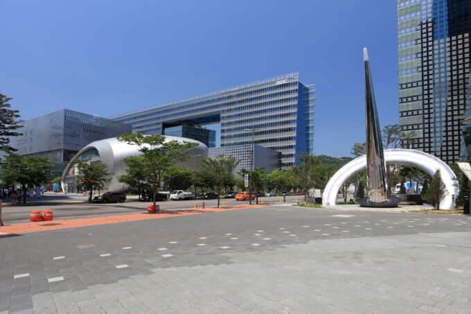 ソウルのデジタルメディアシティ