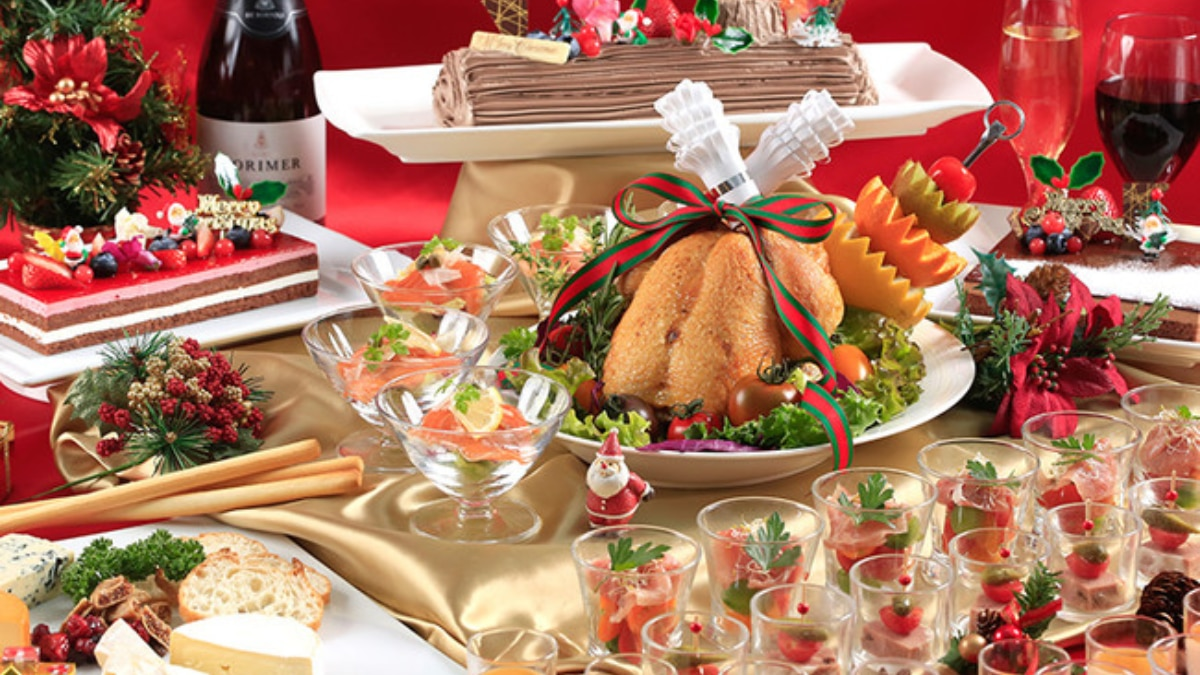 【ホテルJALシティ那覇】毎年大好評「クリスマスバイキング」開催!牛リブロースのステーキも…🥩