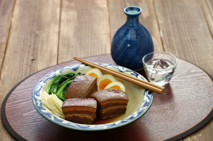 豚角煮、東坡ポーク、沖縄のラフテー
