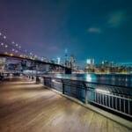 ニューヨーク市-ブルックリン橋