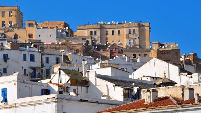 海岸を見下ろす迷路のような世界遺産!アルジェリアの首都アルジェのカスバ