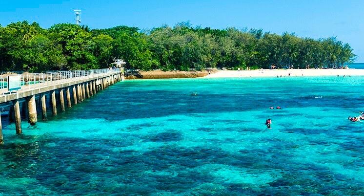 美しい海と熱帯雨林を満喫!ケア...
