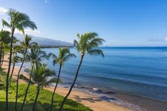 ハワイ州マウイ島キヘイにあるシュガービーチ
