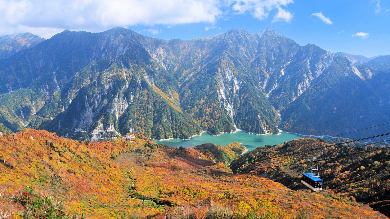 立山黒部の観光スポット10選!壮麗な山岳と歴史に触れる旅