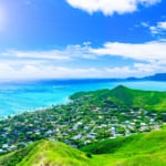 ハワイの美しい景色
