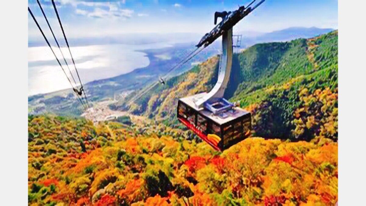 【GoTo・地域共通クーポン対象】紅葉に染まるびわ湖バレイの絶景を旅しよう