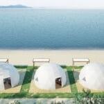琵琶湖を望むグランピング施設がオープン