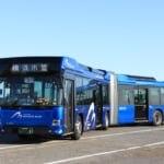 港ヨコハマに連接バスが登場
