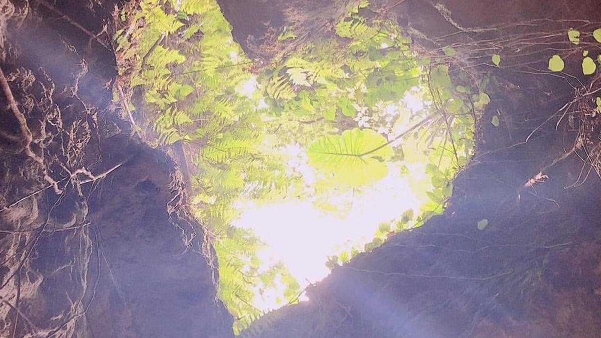 【GoTo対象】沖縄のSNS映えする鍾乳洞「CAVE OKINAWA」でハートロックを発見!
