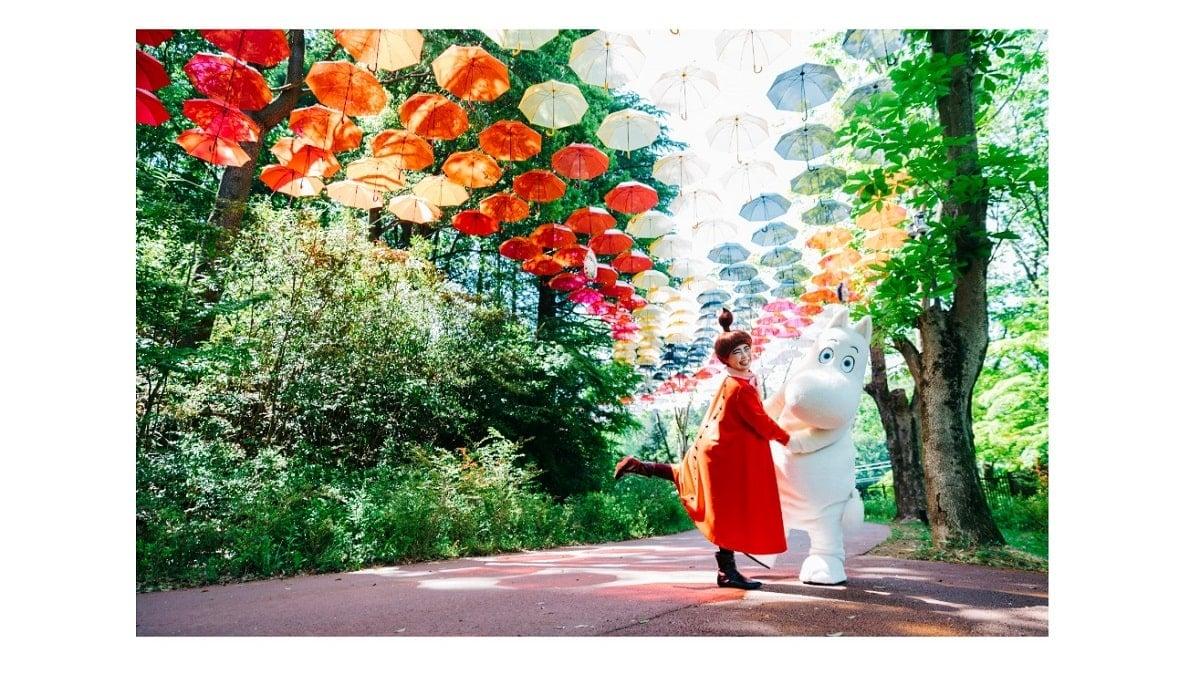ムーミンバレーパーク「ムーミン谷とアンブレラ」2021年4月17日から開催!