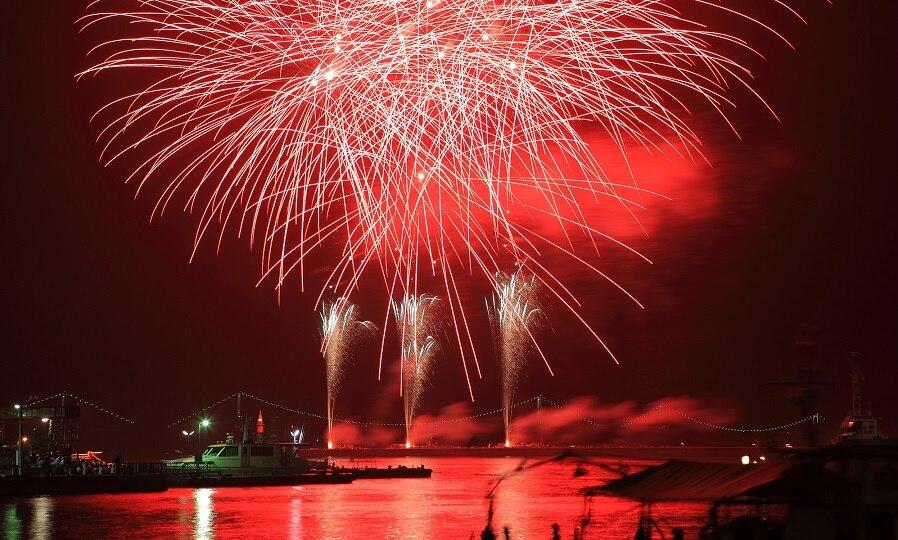 バラ祭りや花火大会も楽しめる!愛媛県今治市のおすすめのお祭りをご紹介
