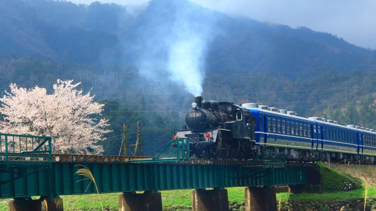 若桜鉄道の観光の魅力を徹底解説!鳥取県の山間を走る小さな鉄道にゆられて