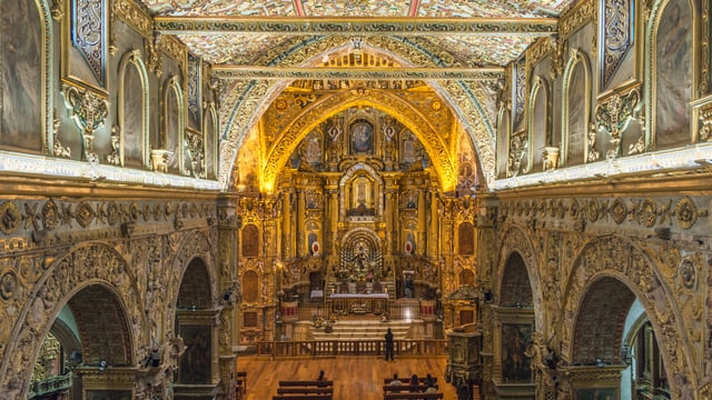 エクアドルの世界遺産キト市街!「アメリカ大陸の修道院」の異名を知る旅