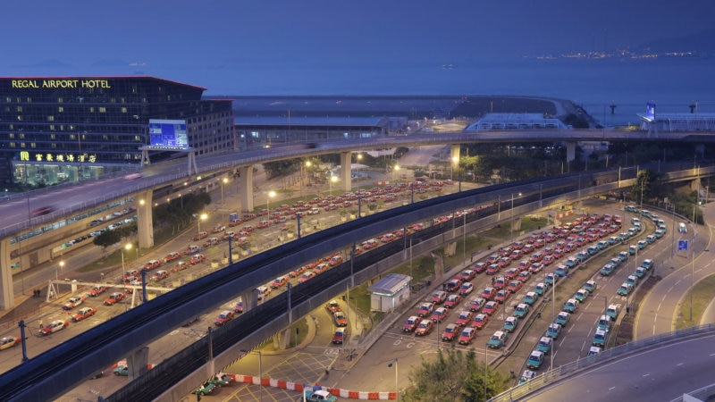 香港国際空港からタクシーを利用する際、これだけは知っておきたいポイント