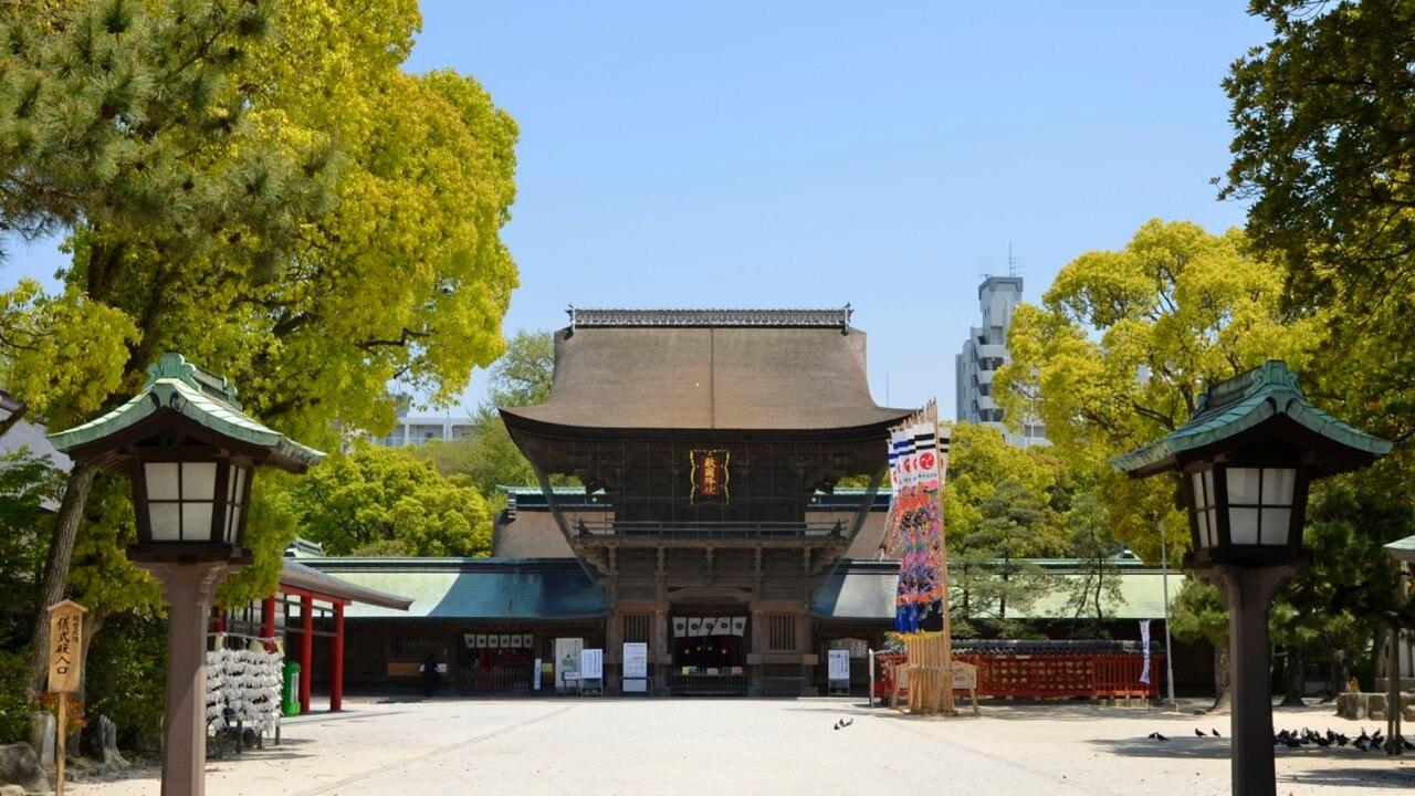 福岡市東区の観光スポット。香椎からウォーターフロントへ抜けてみよう!