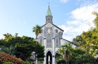 長崎を代表する観光名所の大浦天主堂