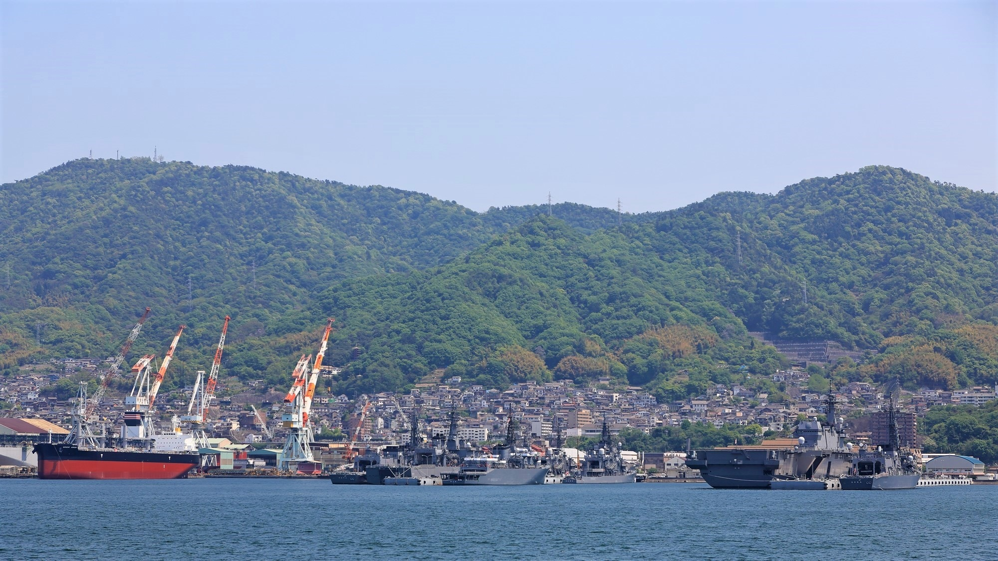 広島県呉市でオススメのホテル|瀬戸内の天然の良港に泊まる!