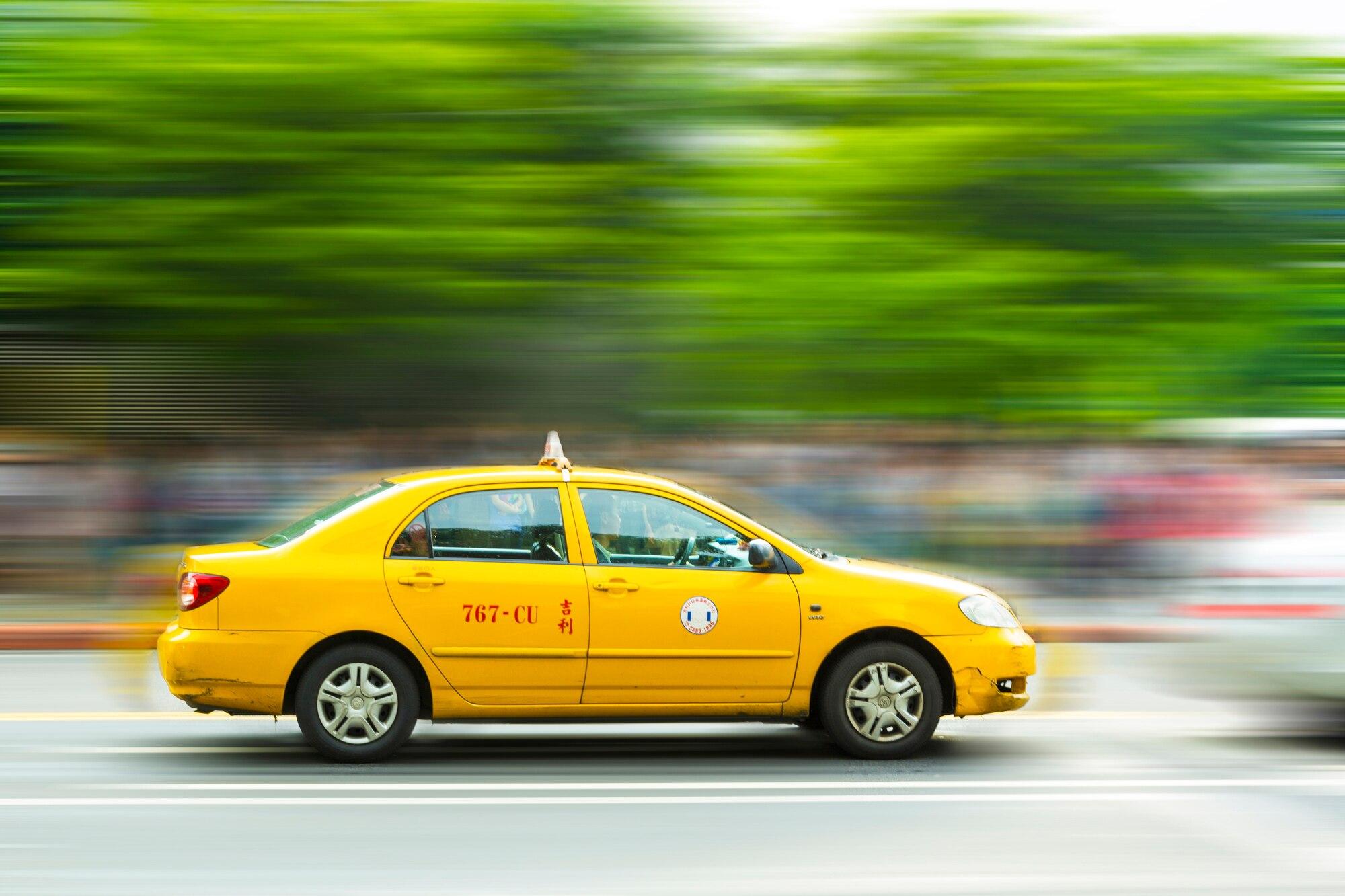 台中でタクシーを上手く使って観光しよう!タクシーで気を付ける3つのこと