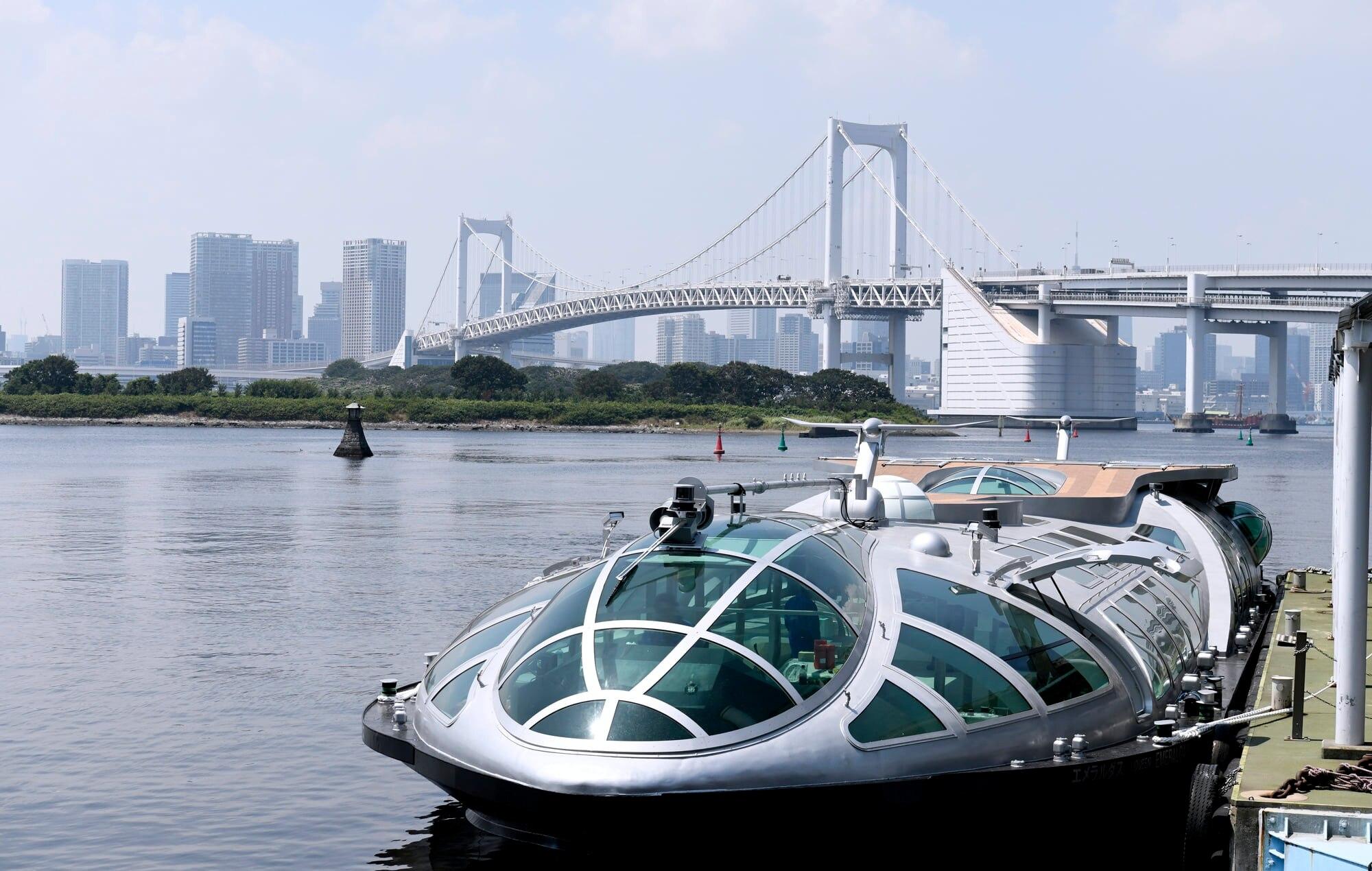 その姿は宇宙船!浅草からTOKYO CRUISEに乗って観光しよう