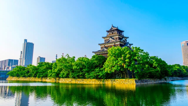 広島藩42万石を支えた名城!広島城の観光の見どころを予習しよう