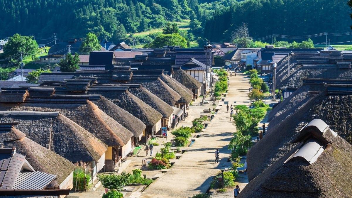福島の人気観光地「大内宿」の魅力を余すところなくご紹介します!