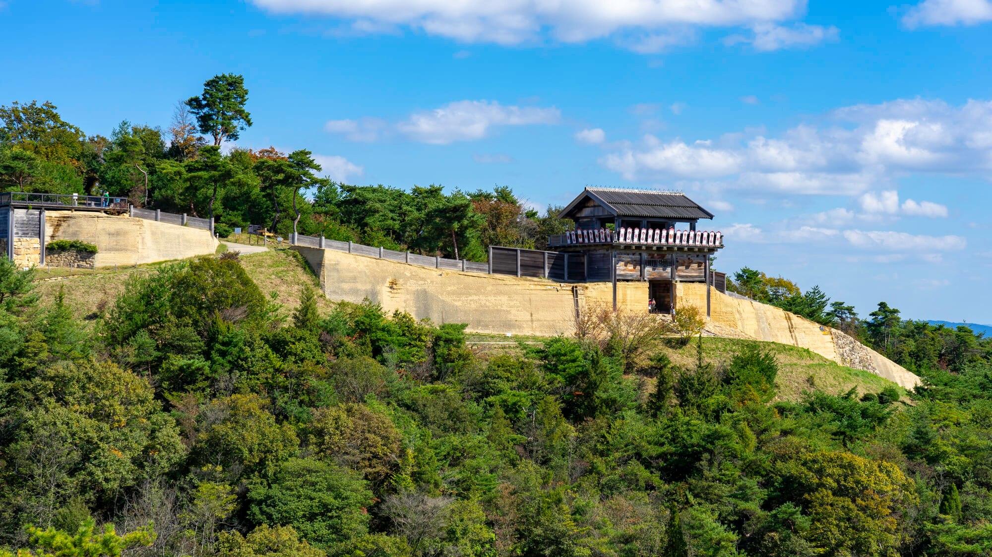 岡山県に残る巨大な古代山城!日本100名城の1つ「鬼ノ城」の観光案内