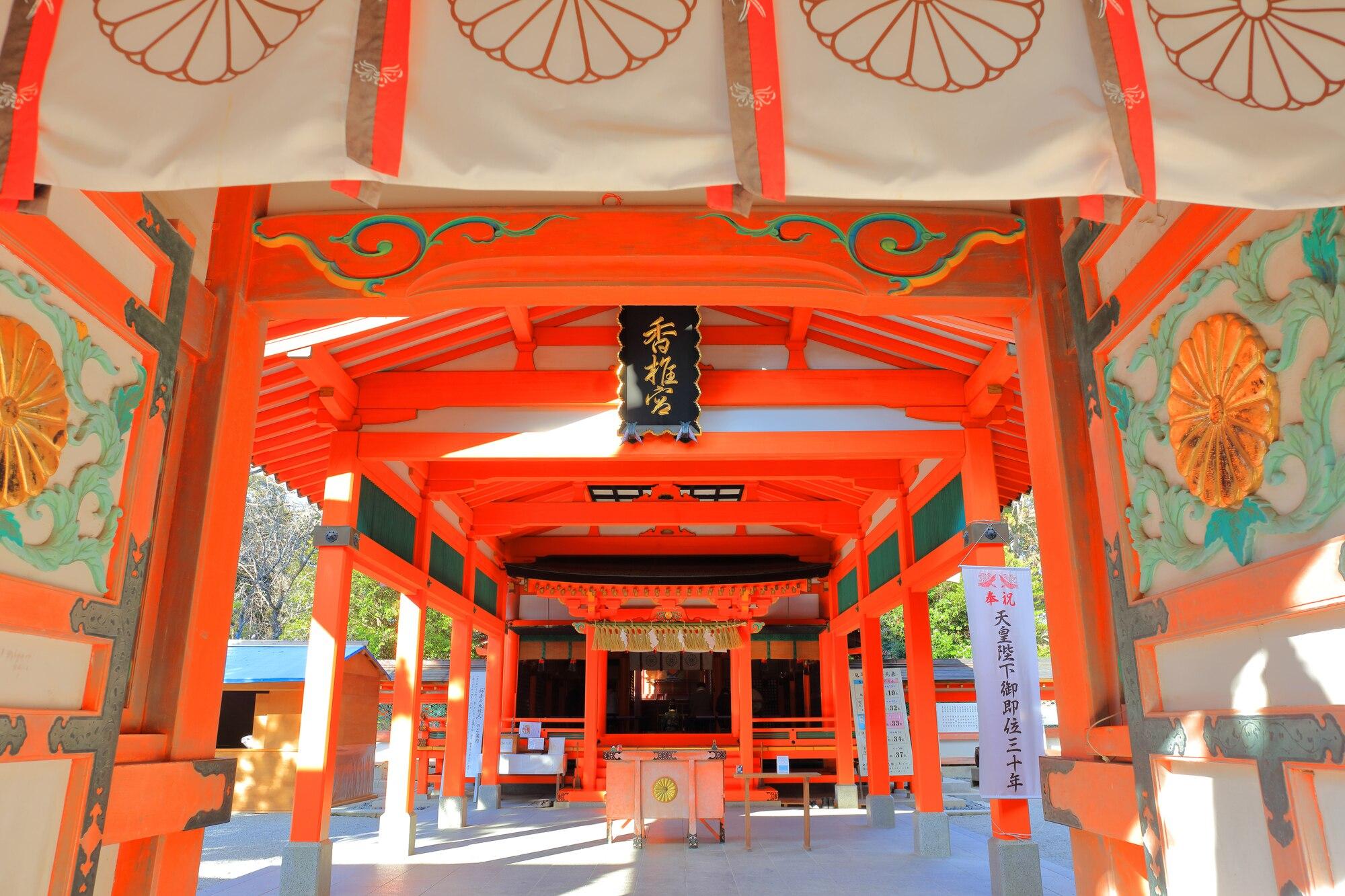 福岡の観光名所!人気パワースポット・香椎宮の魅力に迫る!