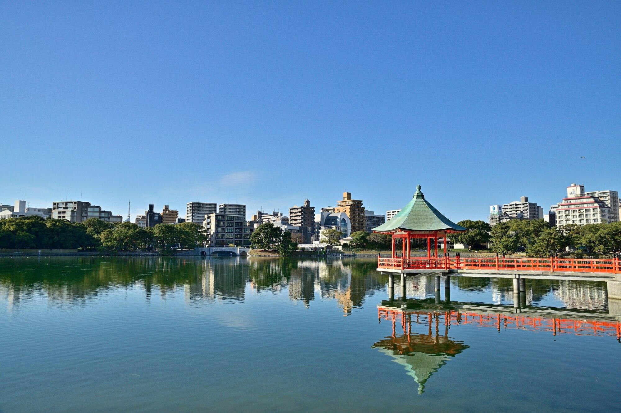 福岡屈指のオアシス!自然と水景が美しい大濠公園おすすめの楽しみ方