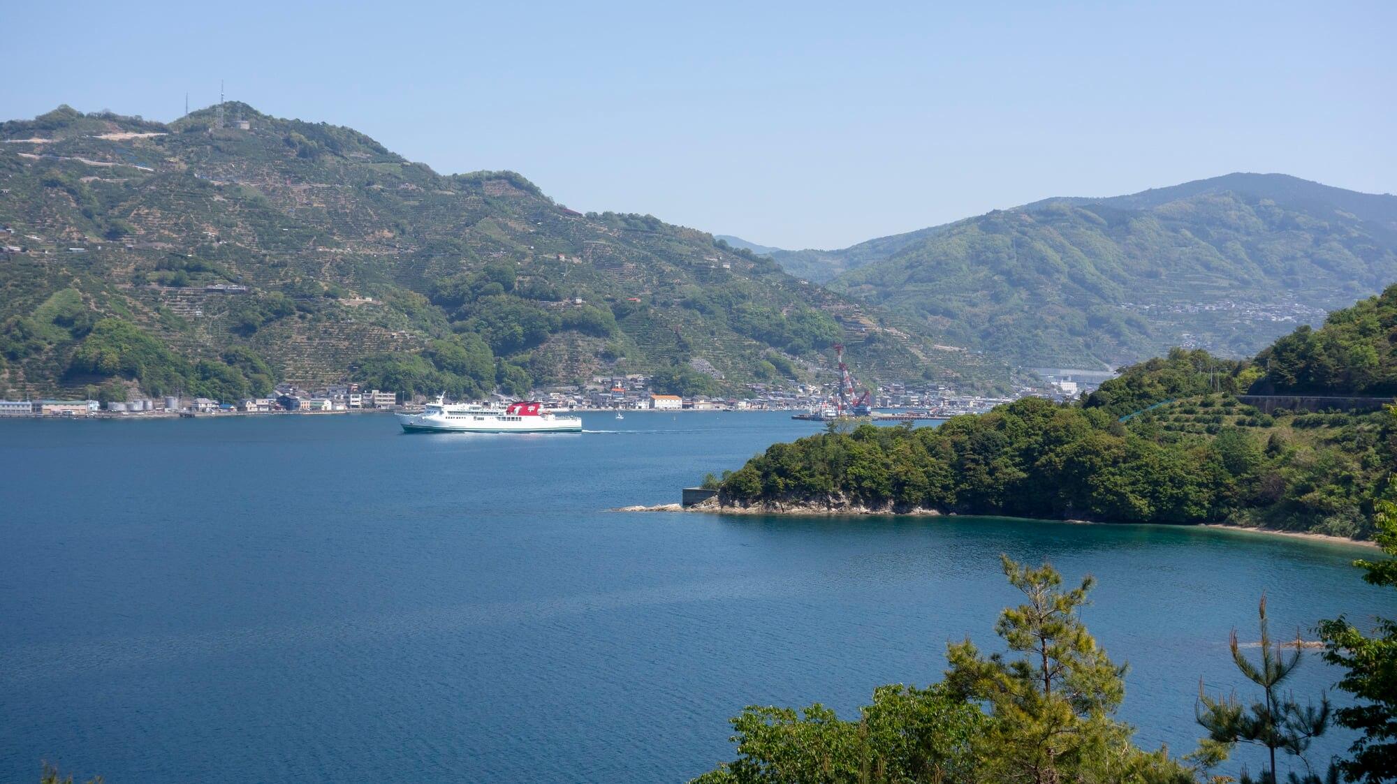 九州から四国まで行くなら宇和島運輸のフェリーがおすすめ!