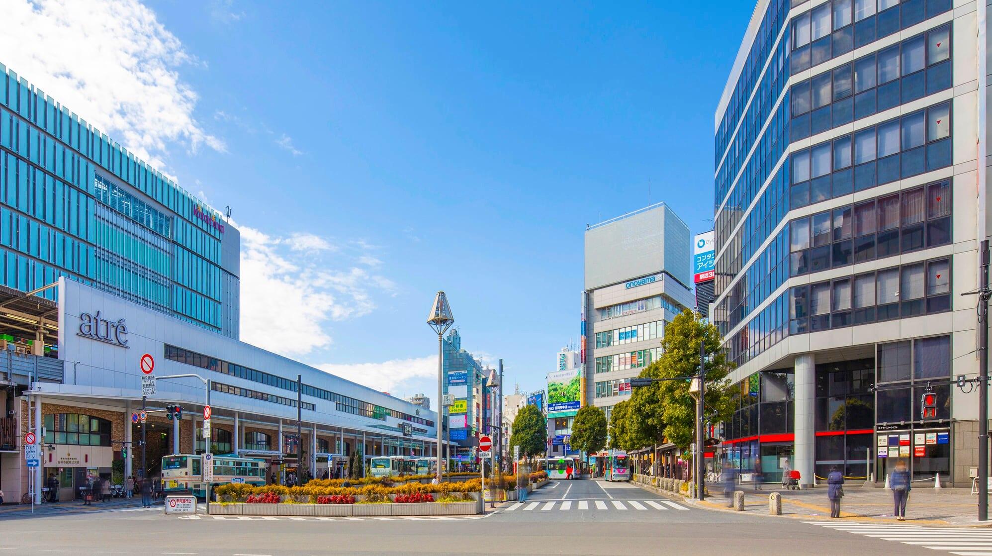東京都下で人気タウン・吉祥寺でおすすめの2ホテルを紹介