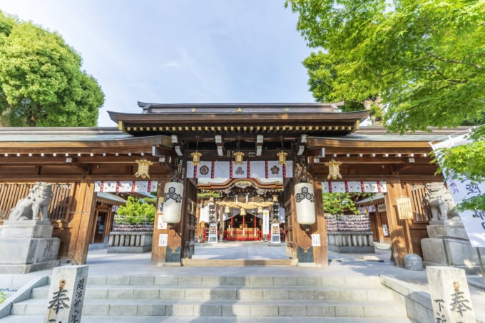 お櫛田さんの愛称で親しまれている櫛田神社