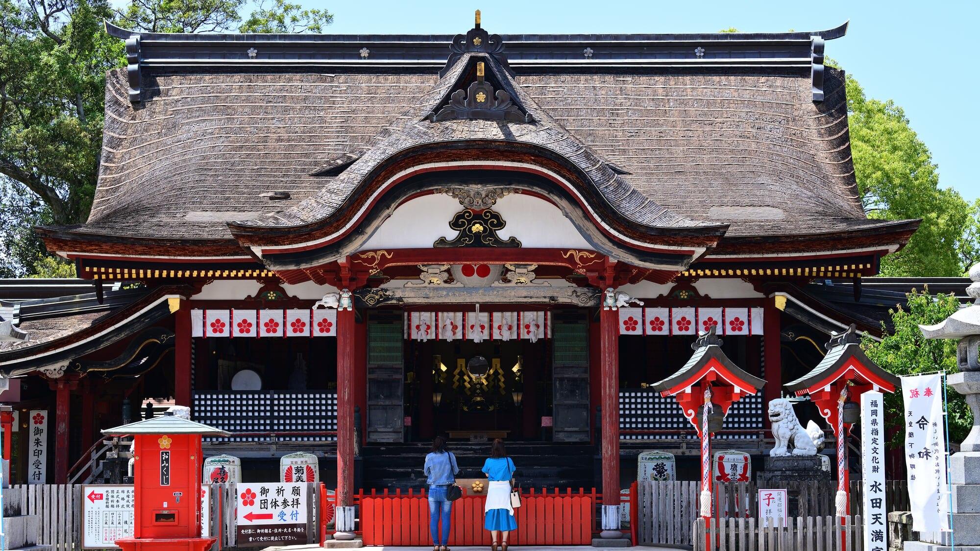福岡県筑後市周辺のおすすめホテル6選!縁結びで有名な水田天満宮がある町