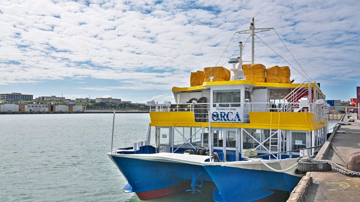 【那覇】水中観光船「オルカ(Orca)号」で南国の海中探検に出発!