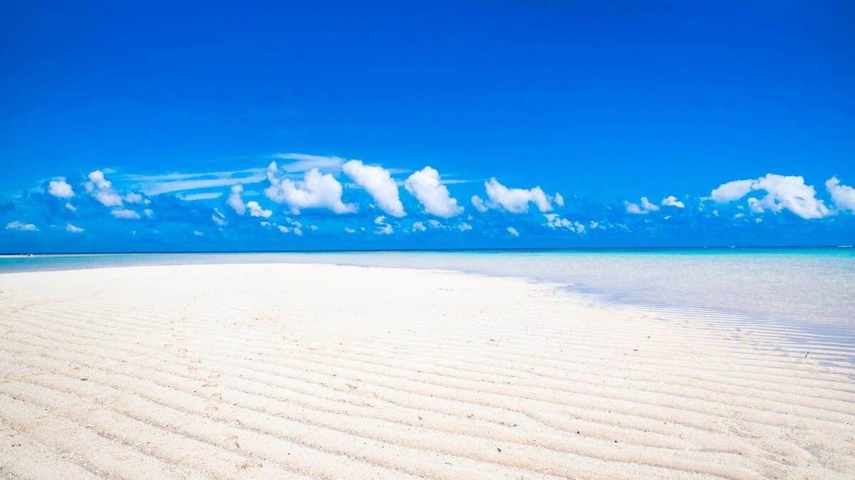 【ここは天国?】幻のビーチ「百合ヶ浜」が2021年GWに出現予定!行き方も解説