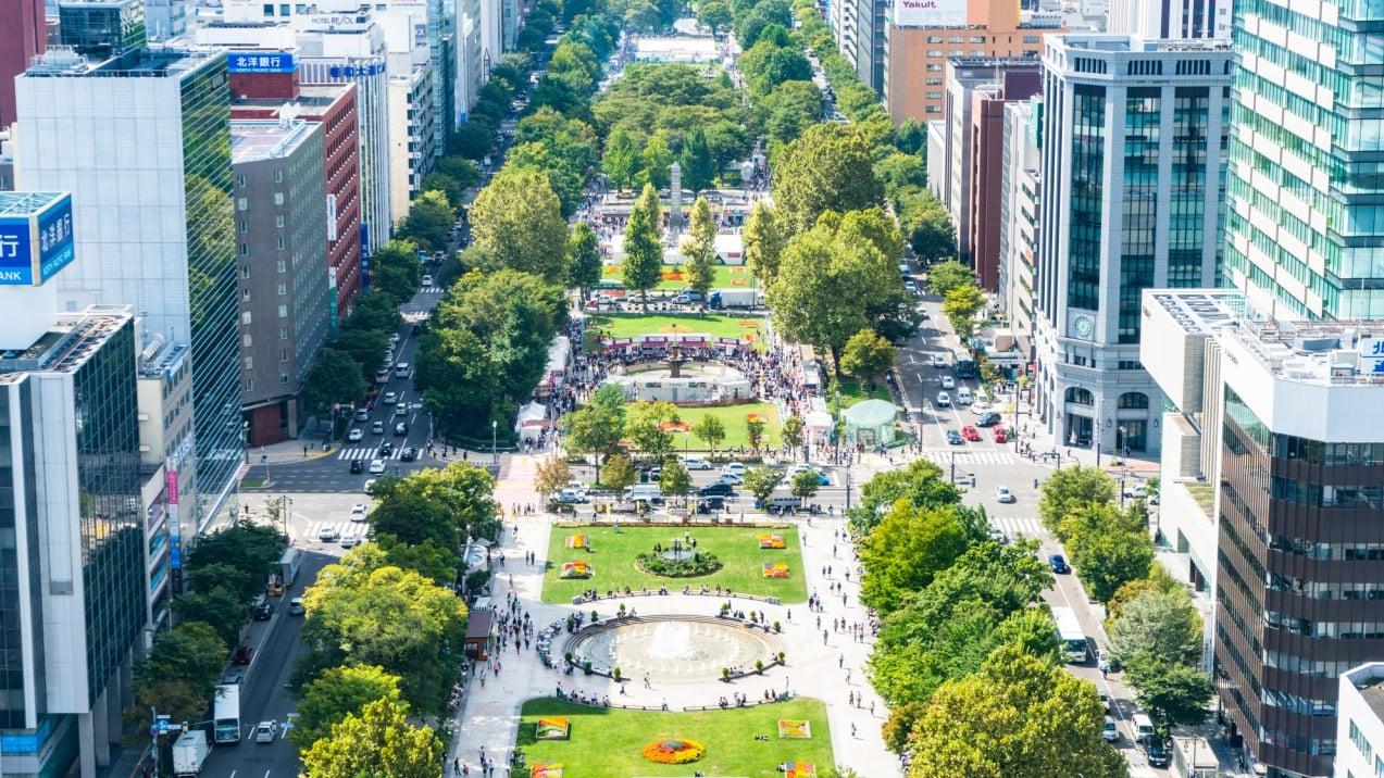 札幌の人気観光スポット「大通公園」でイベントを楽しもう!
