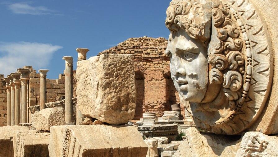 アフリカ・リビアの古代ローマ遺跡!世界遺産レプティス・マグナの古代遺跡