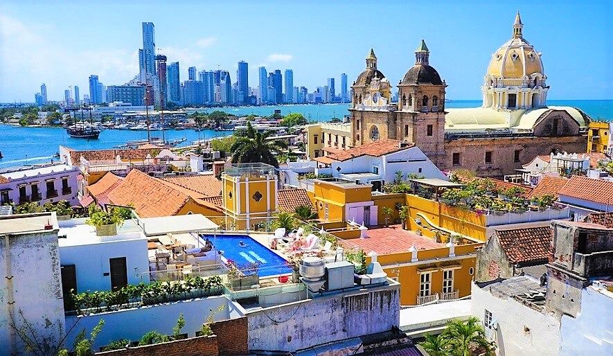 コロンビアの美しい世界遺産!カルタヘナの港、要塞、歴史的建造物群
